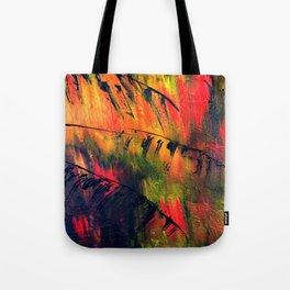 Rainbow Palms Tote Bag