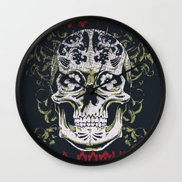 Fear nothing Wall Clock