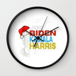 Notorious RBG Joe Biden Kamala Harris 2020 Wall Clock