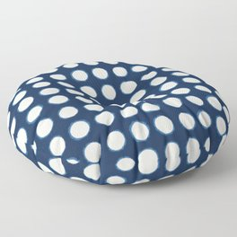 Shibori C Floor Pillow