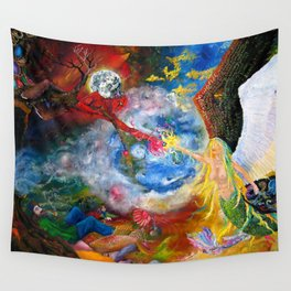 Marriage of Heaven and Hell Wall Tapestry