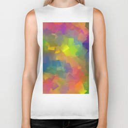 Abstract cubism -2- Biker Tank