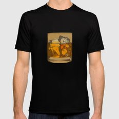 Scotch  Black Mens Fitted Tee LARGE