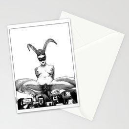 asc 626 - L'unicorne mâle (The performers II) Stationery Cards