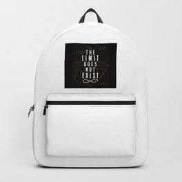 The Limit Does Not Exist Backpack