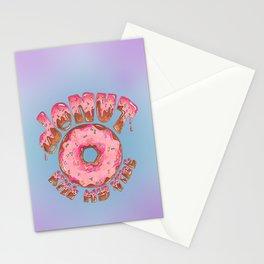 Donut Kill My Vibe Stationery Cards