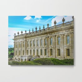 Chatsworth House. Metal Print