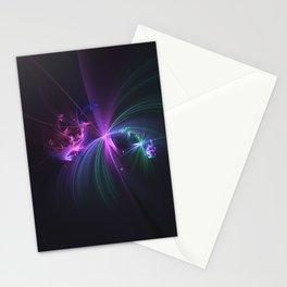 Fireworks Fractal Stationery Cards