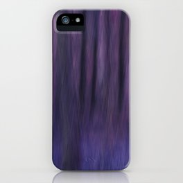 Painted Trees 2 Purples iPhone Case