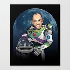 Buzz Aldrin of Star Command Canvas Print