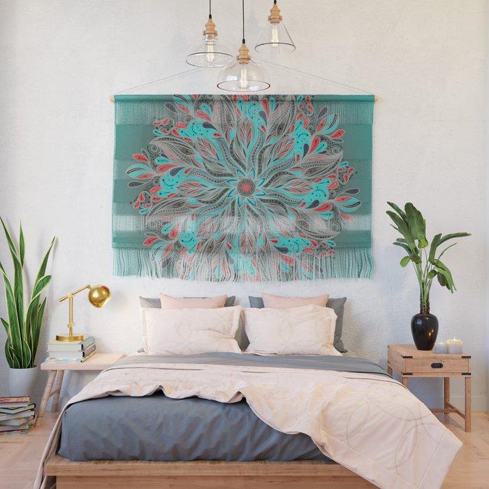 Mandala Flower Wall Hanging