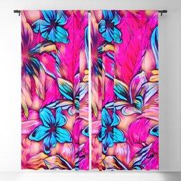 Floral Dreams 619-1C vivid Blackout Curtain