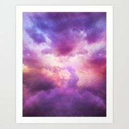 The Skies Are Painted Art Print