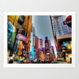 New York Times Square Art Print