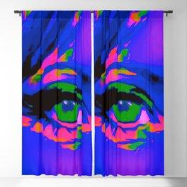 Cobalt Blue Debbie Blackout Curtain