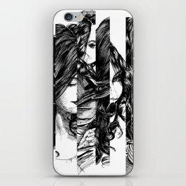 Looking Glass. Yury Fadeev. iPhone Skin