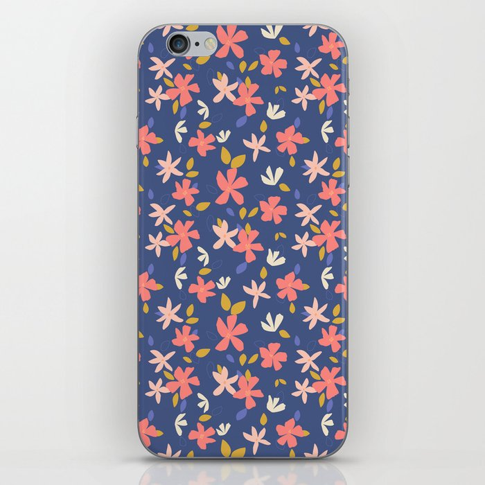 Dancing Florals iPhone Skin
