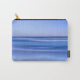 tranquil  blue beach Carry-All Pouch