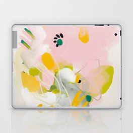 floral abstract spring bouquet 2 Laptop & iPad Skin