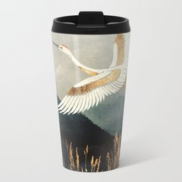 Elegant Flight Metal Travel Mug