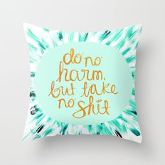 Do No Harm Throw Pillow