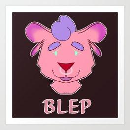 BLEP Art Print