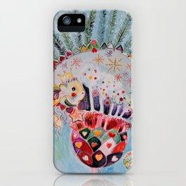 Xmas Guinea Pig iPhone Case