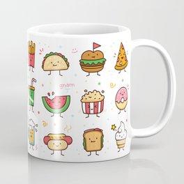 Food Doodle Coffee Mug