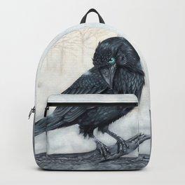 El ve a través del cuervo y controla la niebla Backpack