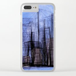 Invisible City #01 Clear iPhone Case