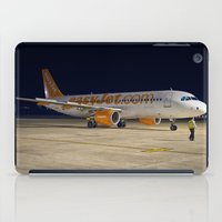 airplane iPad Cases featuring Airplane by cjsphotos