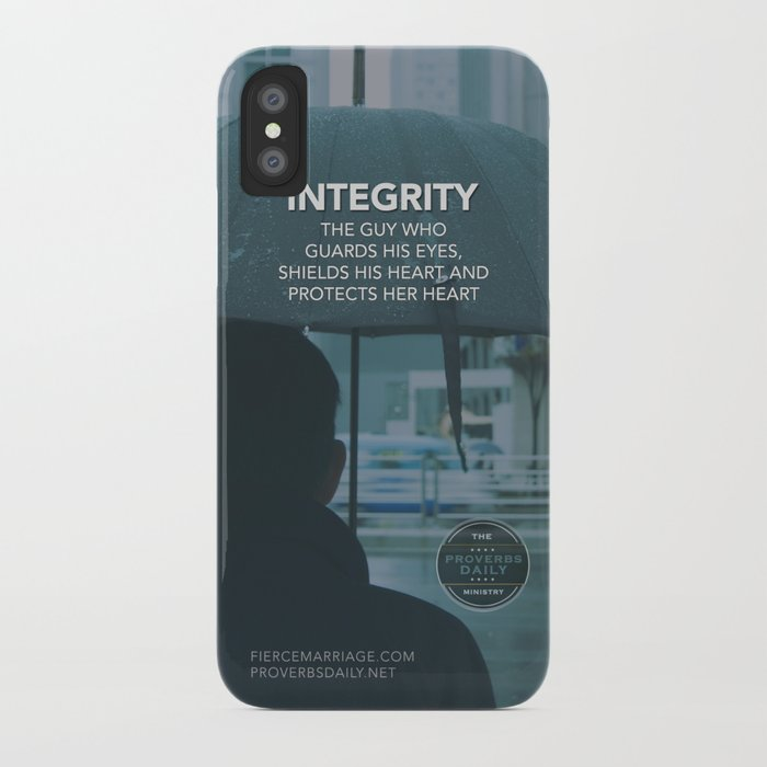 INTEGRITY (General) iPhone Case