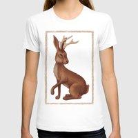 jackalope T-shirts featuring Jackalope by Sarah DC