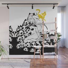 Inktober : Teeming Wall Mural