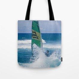 Hookipa Windsurfing North Shore Maui Hawaii Tote Bag