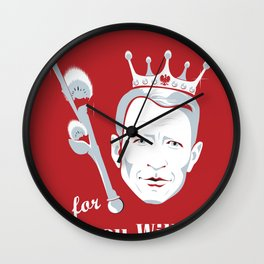 Dyngus Day - Pussy Willow Prince  Wall Clock