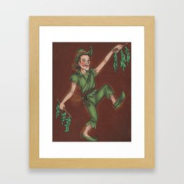 Peter Piper Framed Art Print