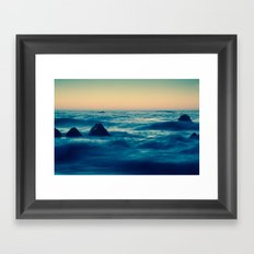 Give / Take Framed Art Print