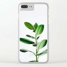 rubber plant #society6 #decor #buyart Clear iPhone Case