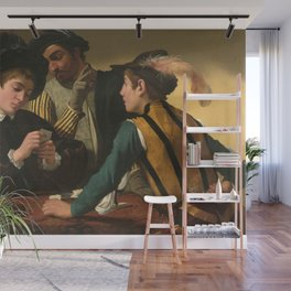 Merisi da Caravaggio - The Cardsharps Wall Mural