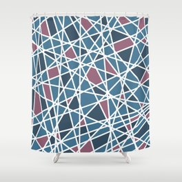 Lazer Mosaic 1 Shower Curtain