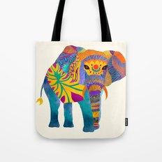 Whimsical Elephant Tote Bag