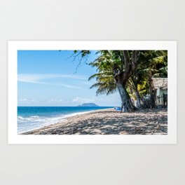 Beach View Art Print