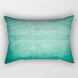 Aquatic Mosaic Rectangular Pillow