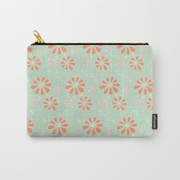 Spring-Summer Blossoms Carry-All Pouch