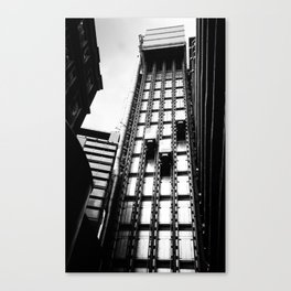 London Lift Canvas Print