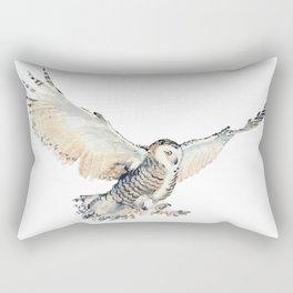 Arctic Snowy Owl Rectangular Pillow