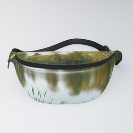 Tree Line Reflection Fanny Pack