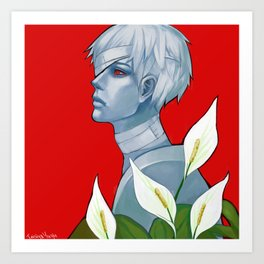 You are Haise Art Print