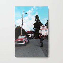 BERKELEY Metal Print